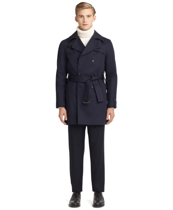 Mackintosh Trench Navy