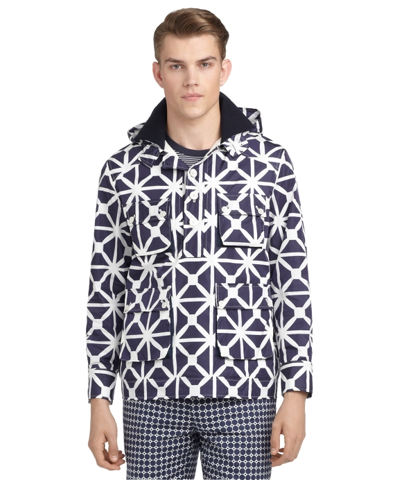 WINDMILL HOODED JACKET Navy
