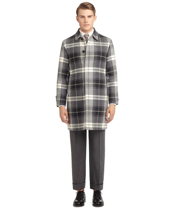 FULL-LENGTH RAGLAN COAT Grey