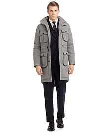 CASHMERE QUILTED COAT