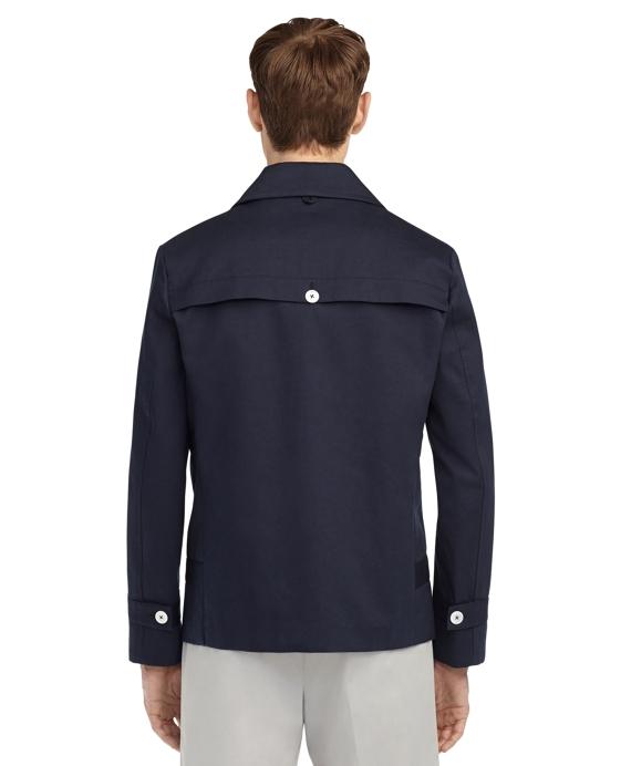 Men's Black Fleece Mackintosh Trench Coat