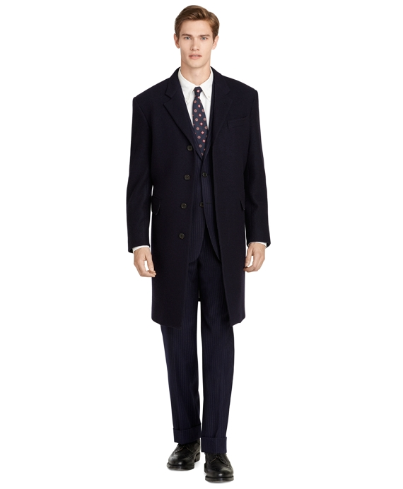 Navy Chesterfield Coat Navy