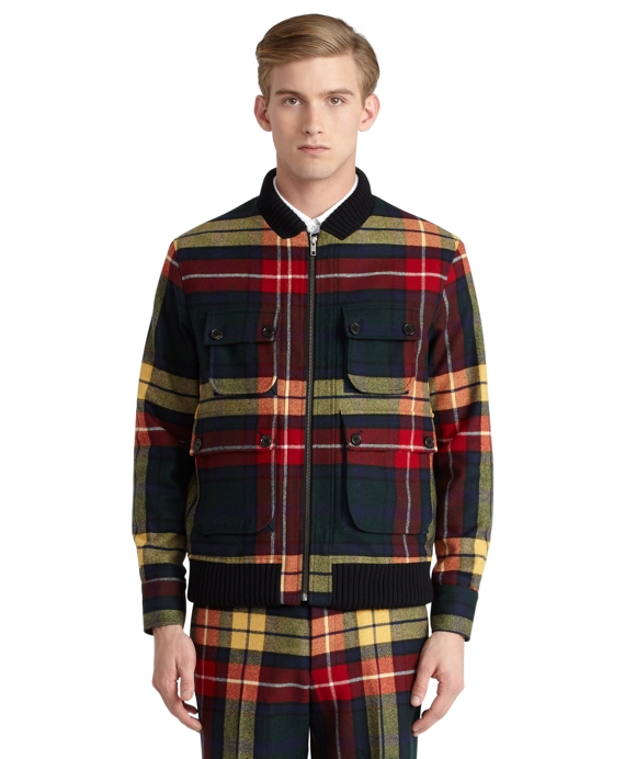 Tartan Sport Jacket Green Multi