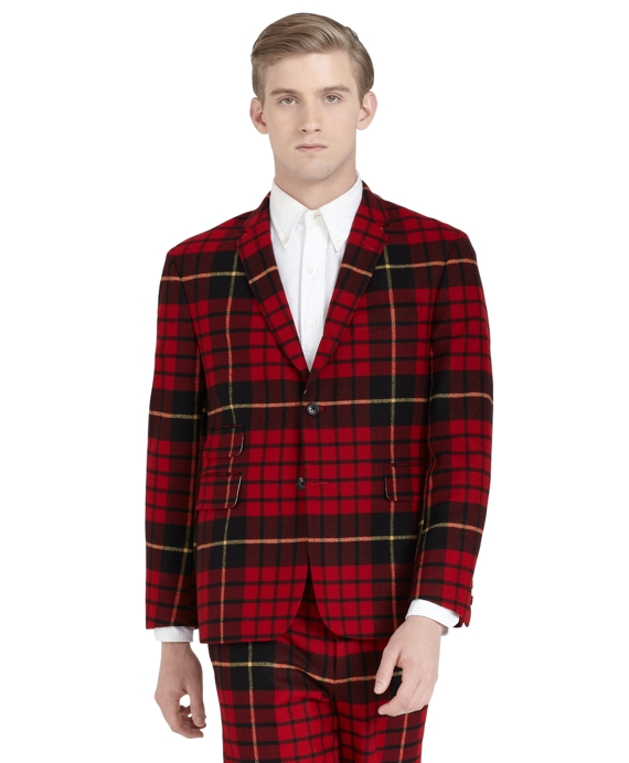 Tartan Classic Jacket Red-Black