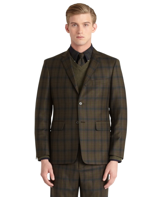 Plaid Classic Jacket Navy-Green