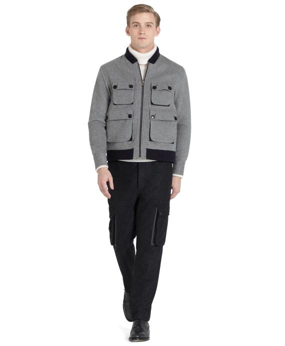 Cashmere Sport Jacket Grey