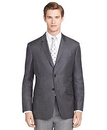 Dark Grey Argyle Sport Coat