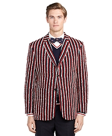 Stripe Wool Sport Coat