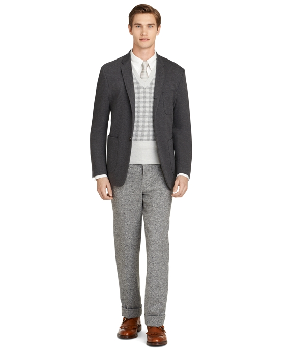 Grey Double Faced Sport Coat - Brooks Brothers