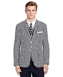 Stripe Patch Pocket Sport Coat