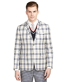Large Plaid Sport Coat
