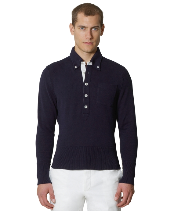 Polo Sweater Navy