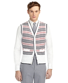 STRIPE SWEATER VEST