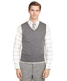 Dark Grey Tipped Vest