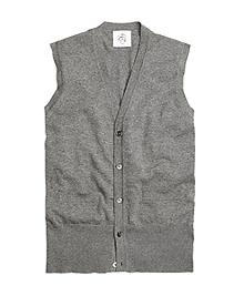 Cashmere Button-Front Vest