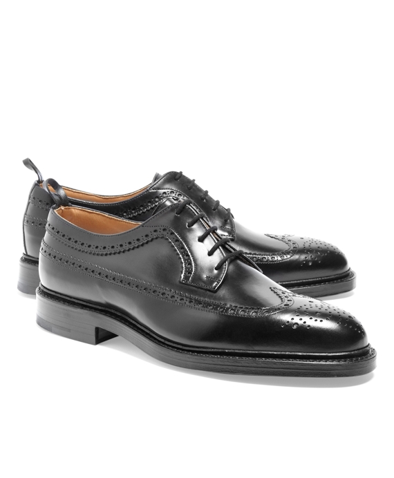 Calfskin Wingtip Black