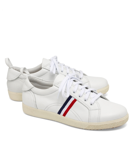 Leather Sneaker White