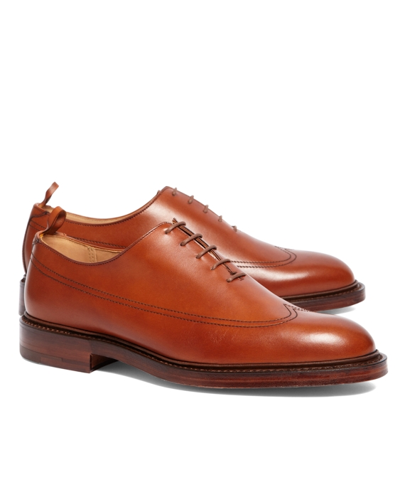Burnished Calfskin Wingtip Tan