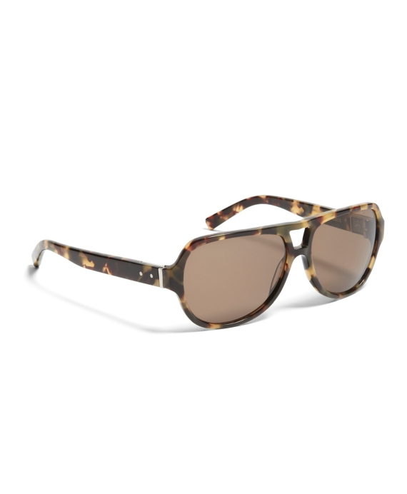 Black Fleece Tortoise Aviator Brown