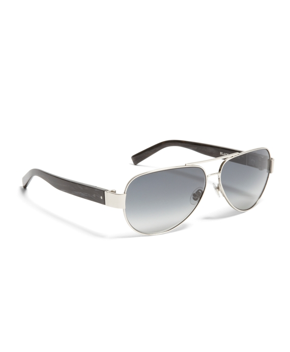 Black Fleece Wire Aviator Silver