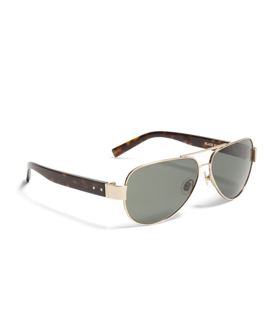 Black Fleece Wire Aviator Gold