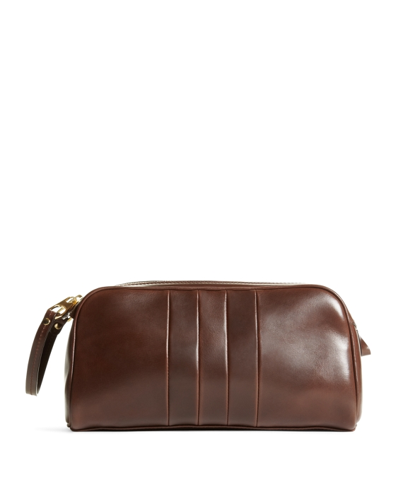 TOILETRY BAG Brown
