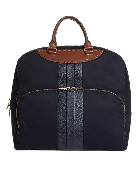 MACKINTOSH BOWLER BAG Navy