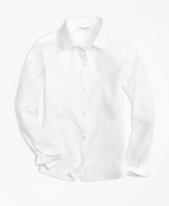 Non-Iron Long-Sleeve Oxford White