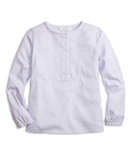Cotton Stripe Blouse