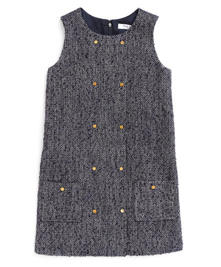 Buy Wool Boucle Dress, see details about this diamond and more
