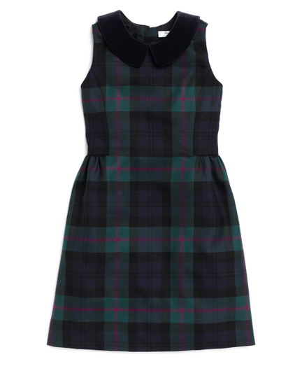 Buy Wool Tartan Dress, see details about this diamond and more
