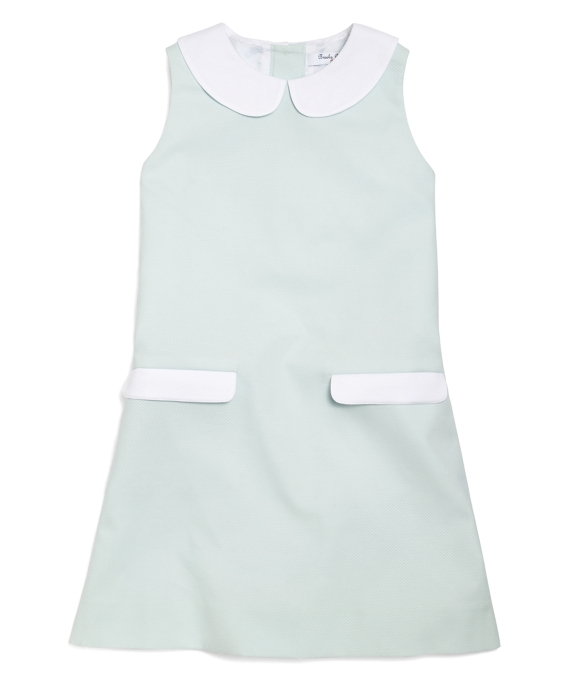 Pique Sailor Dress Mint Green