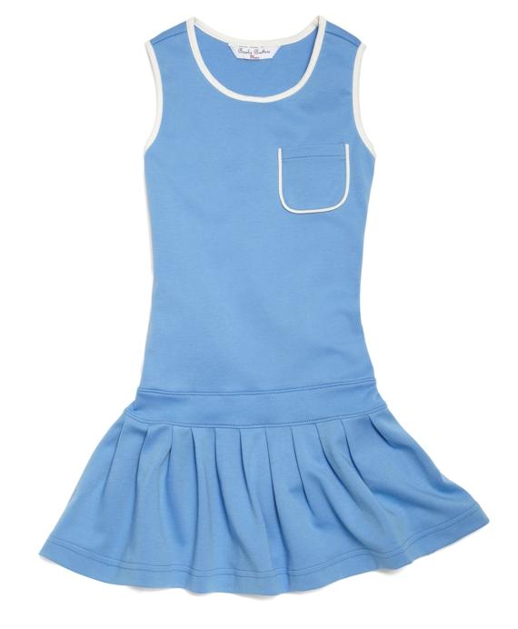 Knit Tank Dress Blue