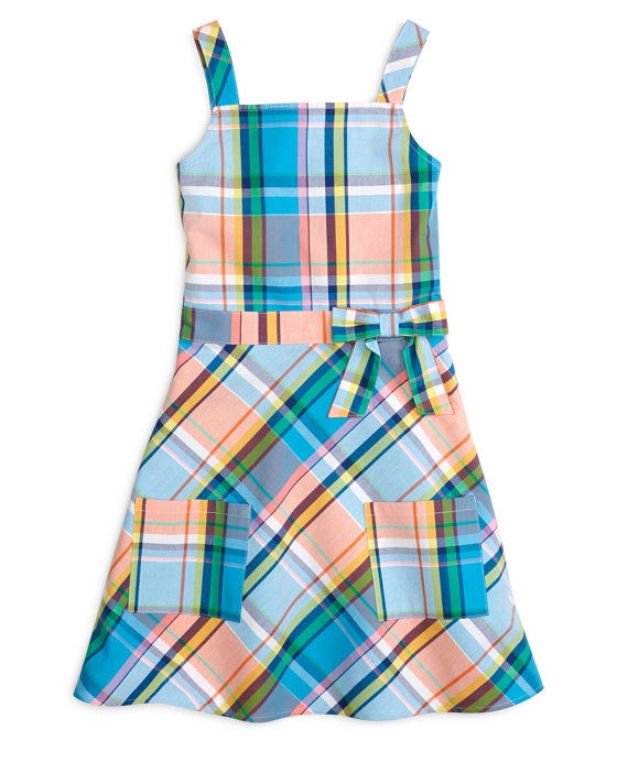 Multiplaid Tank Dress Multi