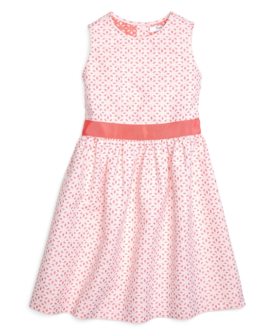 Sleeveless Eyelet Dress Watermelon