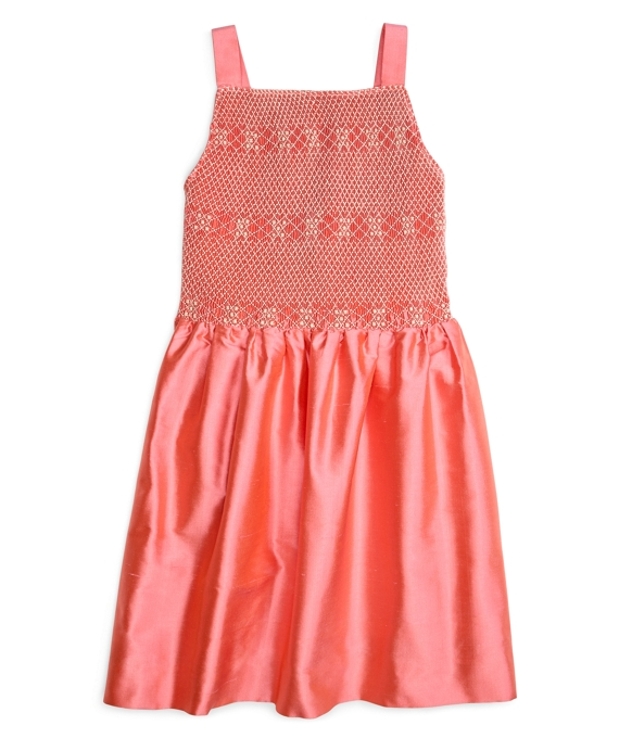 Smocked Tank Dress Watermelon