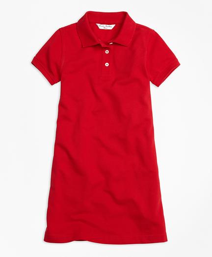 Short-Sleeve Polo Dress