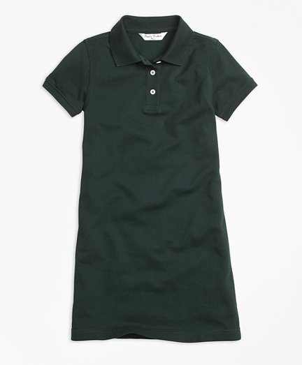 Short-Sleeve Polo Dress