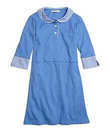 Cotton Flared Dress