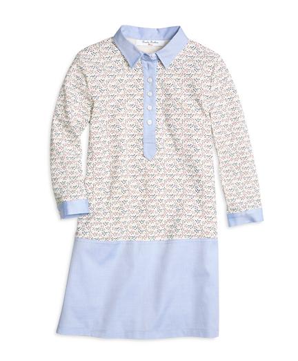 Cotton Waffle Knit Dress