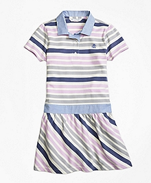 Cotton Multistripe Dress