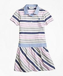 Cotton Multistripe Dress