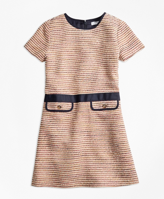 1920s Children Fashions: Girls, Boys, Baby Costumes Boucle Dress $100.00 AT vintagedancer.com