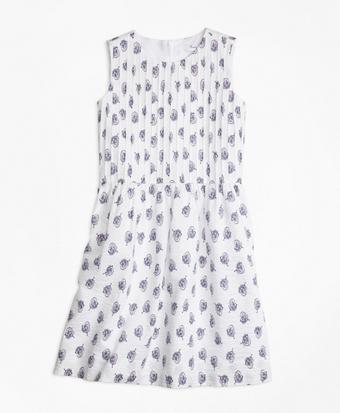 Sleeveless Cotton Dress