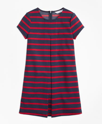 Stripe Ponte Dress