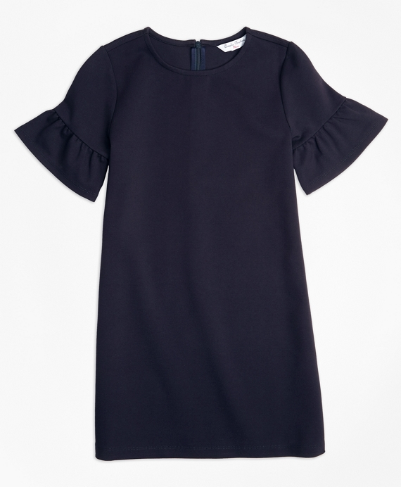Ponte Shift Dress Navy