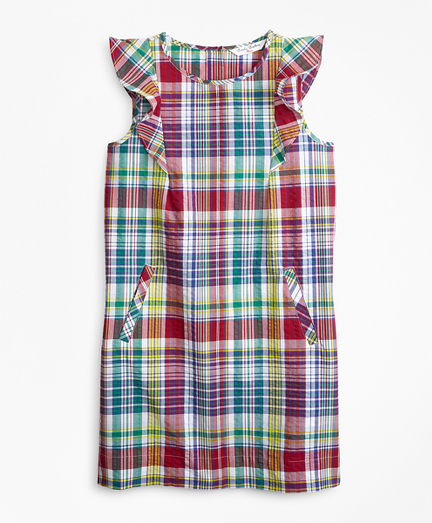 Cotton Madras Dress