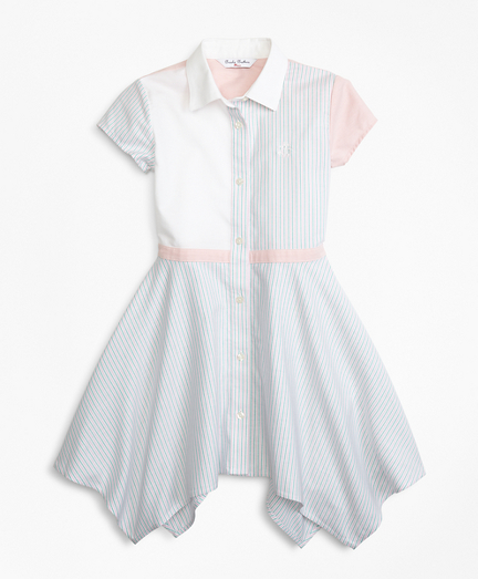 Non-Iron Supima® Cotton Oxford Fun Shirt Dress