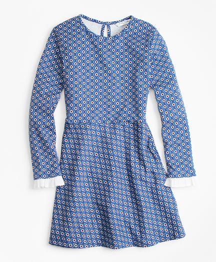 Floral Cotton Knit Dress