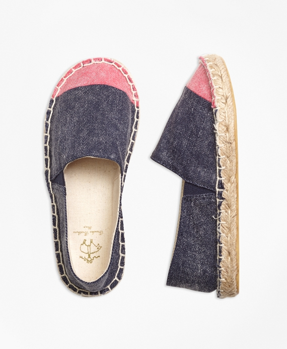 Cotton Espadrilles Navy